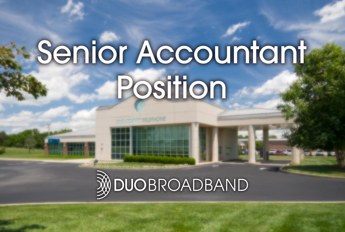 Senior Accounting Position