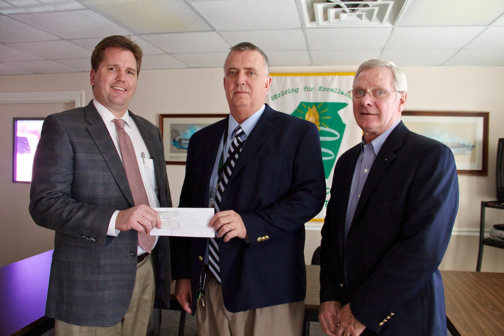 cumberland school donation